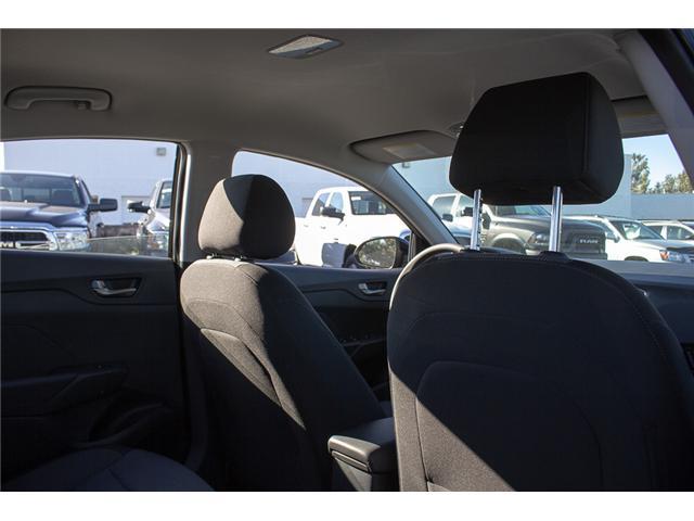 2019 Hyundai Accent Preferred (Stk: KA046122) in Abbotsford - Image 14 of 24