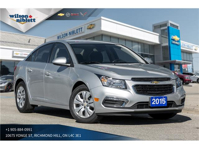 2015 Chevrolet Cruze 1LT (Stk: U108934) in Richmond Hill - Image 1 of 20