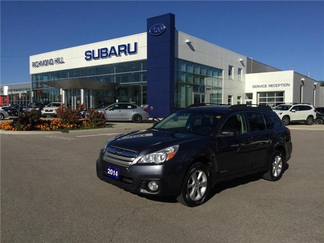 2014 Subaru Outback 2.5i Limited Package (Stk: T31101) in RICHMOND HILL - Image 1 of 9