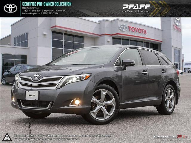 2013 Toyota Venza V6 AWD 6A (Stk: H18801A) in Orangeville - Image 1 of 27