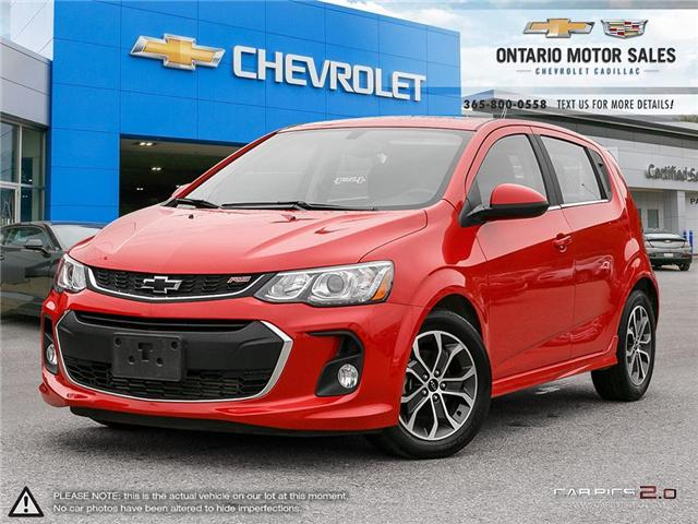 2018 Chevrolet Sonic LT Auto (Stk: 12199A) in Oshawa - Image 1 of 33