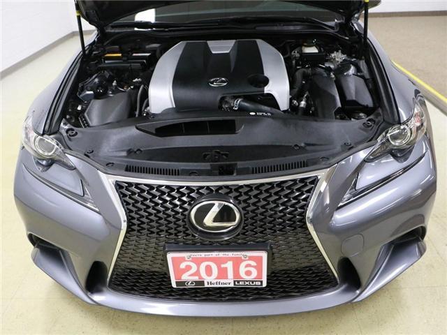 2016 Lexus IS 300 Base (Stk: 187280) in Kitchener - Image 22 of 23