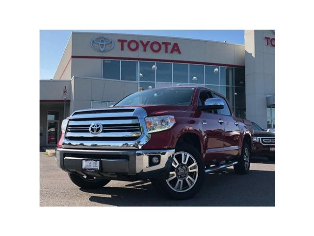 2017 Toyota Tundra  (Stk: 18282A) in Bowmanville - Image 1 of 30