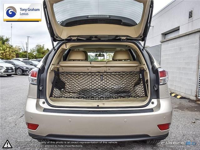 2015 Lexus RX 350 Sportdesign (Stk: Y3222) in Ottawa - Image 11 of 27