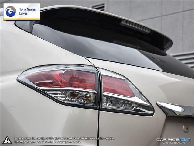 2015 Lexus RX 350 Sportdesign (Stk: Y3222) in Ottawa - Image 12 of 27