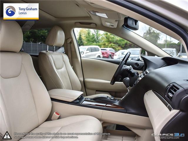 2015 Lexus RX 350 Sportdesign (Stk: Y3222) in Ottawa - Image 23 of 27