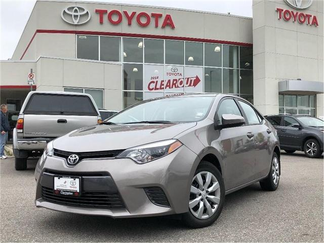 2015 Toyota Corolla LE (Stk: P2167) in Bowmanville - Image 1 of 10