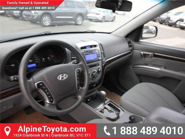 2010 Hyundai Santa Fe GL 2.4 (Stk: X151380A) in Cranbrook - Image 9 of 16