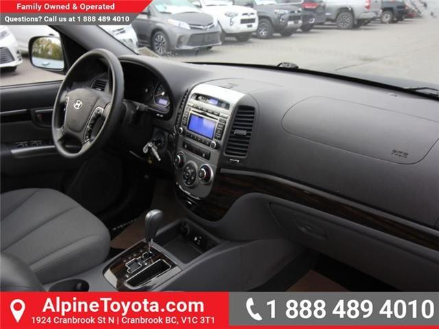 2010 Hyundai Santa Fe GL 2.4 (Stk: X151380A) in Cranbrook - Image 11 of 16