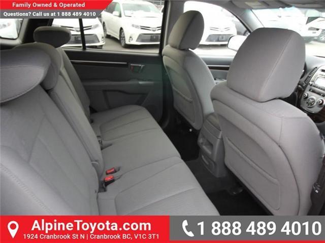 2010 Hyundai Santa Fe GL 2.4 (Stk: X151380A) in Cranbrook - Image 12 of 16