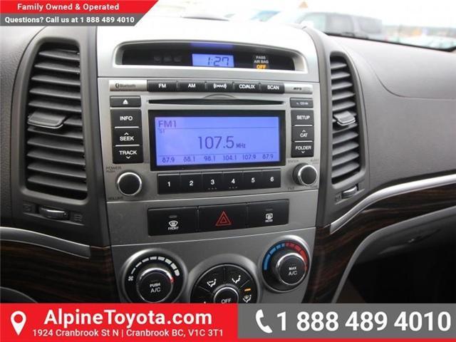 2010 Hyundai Santa Fe GL 2.4 (Stk: X151380A) in Cranbrook - Image 13 of 16