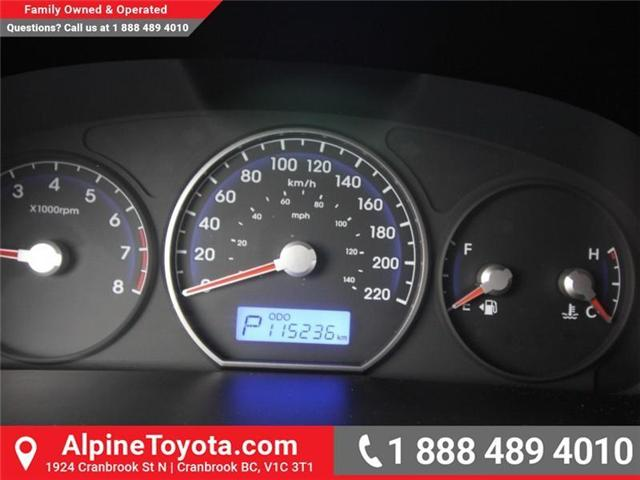 2010 Hyundai Santa Fe GL 2.4 (Stk: X151380A) in Cranbrook - Image 14 of 16
