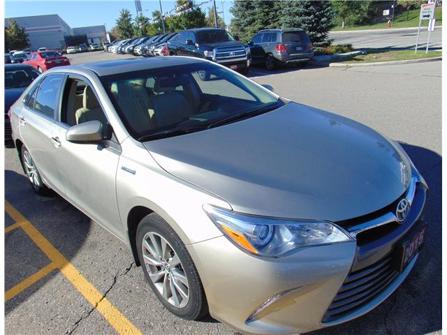 2015 Toyota Camry Hybrid LE (Stk: 158431T) in Brampton - Image 1 of 9