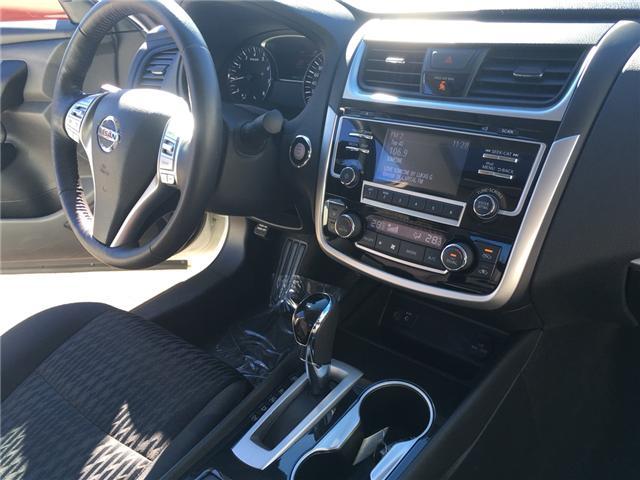 2018 Nissan Altima 2.5 SV (Stk: 144) in Oromocto - Image 10 of 21