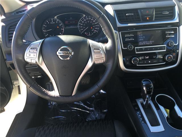 2018 Nissan Altima 2.5 SV (Stk: 144) in Oromocto - Image 12 of 21