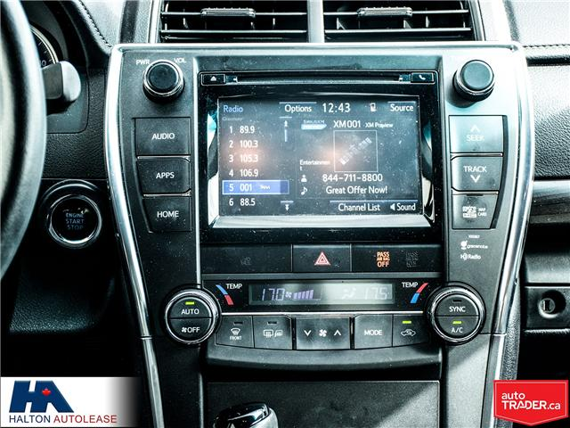 2015 Toyota Camry XLE (Stk: 310131) in Burlington - Image 15 of 18