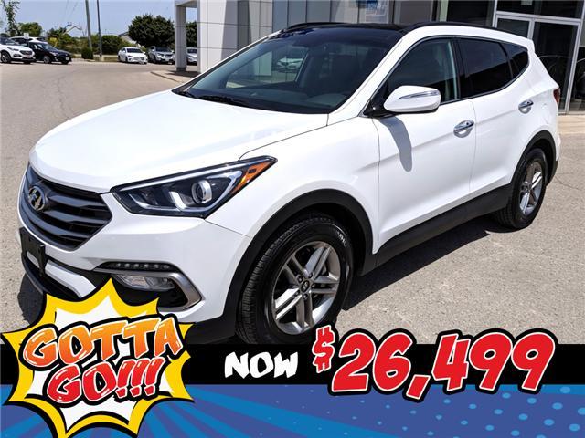 2018 Hyundai Santa Fe Sport 2.4 SE (Stk: 85052) in Goderich - Image 1 of 22