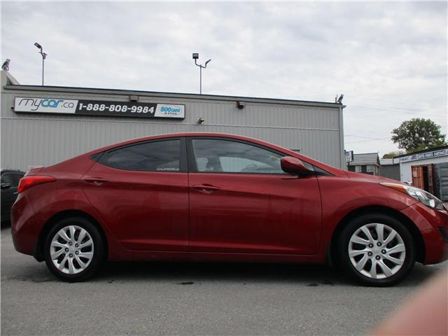 2012 Hyundai Elantra GL (Stk: 181492) in North Bay - Image 2 of 11