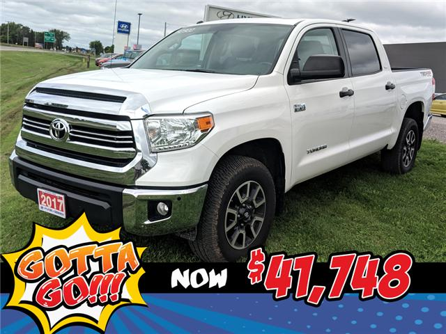 2017 Toyota Tundra SR5 Plus 5.7L V8 (Stk: 85014) in Goderich - Image 1 of 22