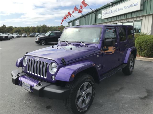2018 Jeep Wrangler JK Unlimited Sahara (Stk: 10134) in Lower Sackville - Image 1 of 18