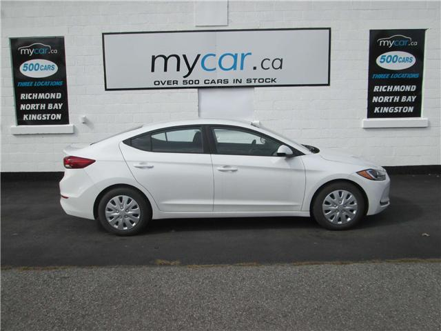 2017 Hyundai Elantra L (Stk: 181453) in Kingston - Image 1 of 12