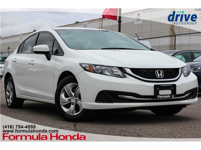 2015 Honda Civic LX (Stk: 18-2153A) in Scarborough - Image 1 of 26