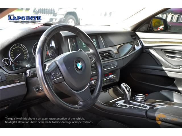 2014 BMW 535d xDrive (Stk: P3394) in Pembroke - Image 10 of 20