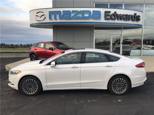 2017 Ford Fusion SE (Stk: 21488) in Pembroke - Image 1 of 10