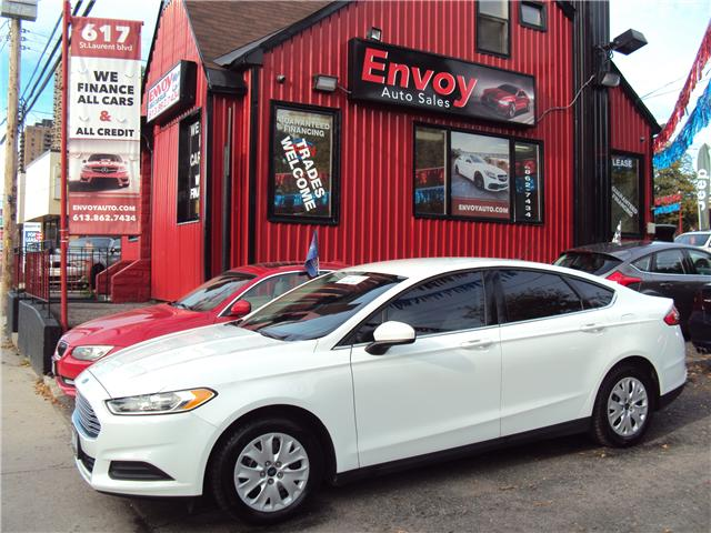 2014 Ford Fusion S (Stk: ) in Ottawa - Image 1 of 23