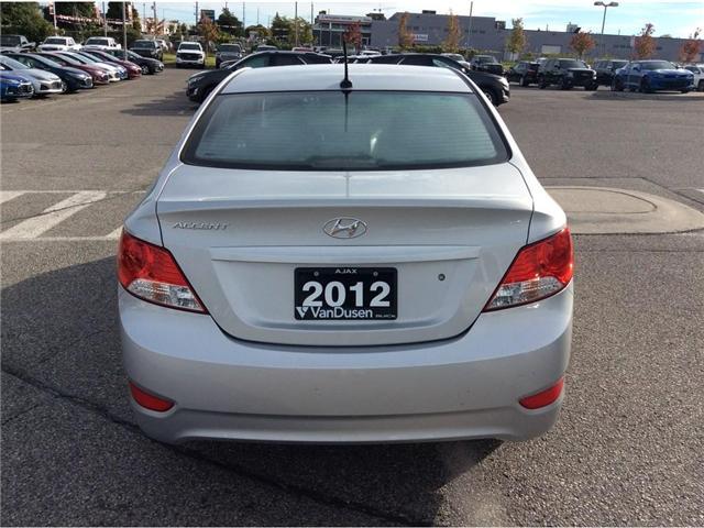 2012 Hyundai Accent GLS (Stk: 183991A) in Ajax - Image 16 of 21
