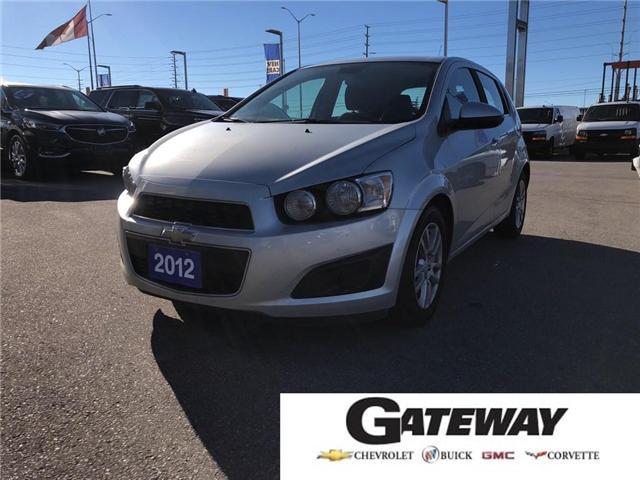 2012 Chevrolet Sonic For Sale In Brampton Gateway Chevrolet