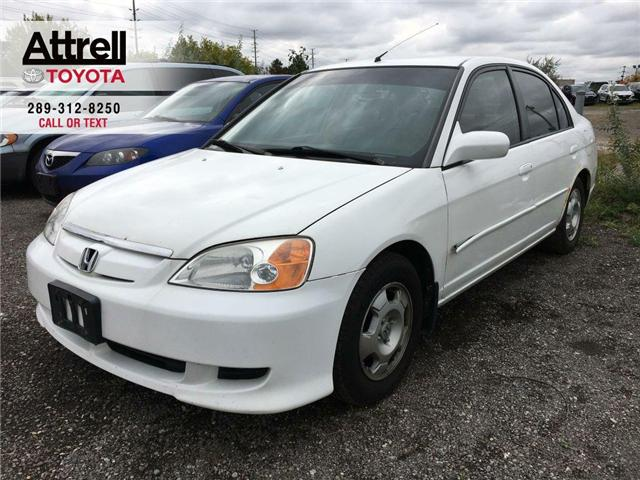 2003 Honda CIVIC SDN HYBRID SEDAN ALLOY WHEELS, TINTED WINDOWS, POWER G (Stk: 42257A) in Brampton - Image 1 of 12