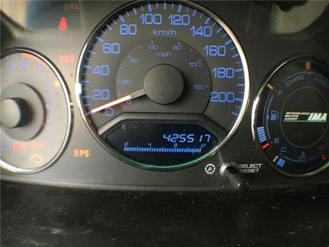 2003 Honda Civic Sedan HYBRID SEDAN ALLOY WHEELS, TINTED WINDOWS, POWER G (Stk: 42257A) in Brampton - Image 9 of 12
