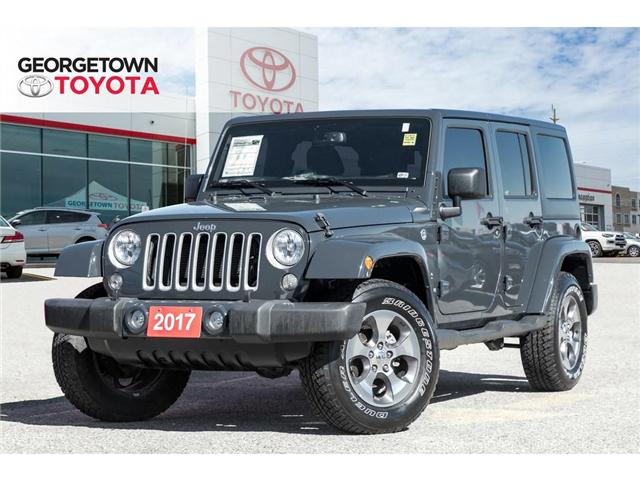 2017 Jeep Wrangler Unlimited Sahara (Stk: 17-08552) in Georgetown - Image 1 of 18