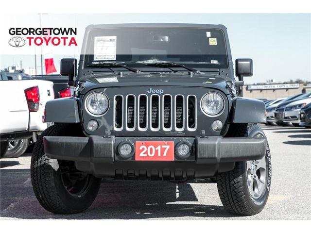2017 Jeep Wrangler Unlimited Sahara (Stk: 17-08552) in Georgetown - Image 2 of 18