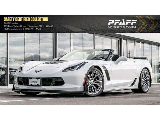 2018 Chevrolet Corvette Convertible Z06 (Stk: P12833AAA) in Vaughan - Image 1 of 22
