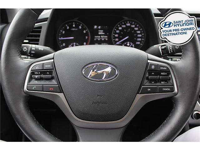 2018 Hyundai Elantra GL SE (Stk: U1916) in Saint John - Image 11 of 20