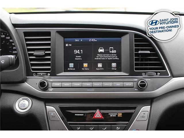 2018 Hyundai Elantra GL SE (Stk: U1916) in Saint John - Image 13 of 20