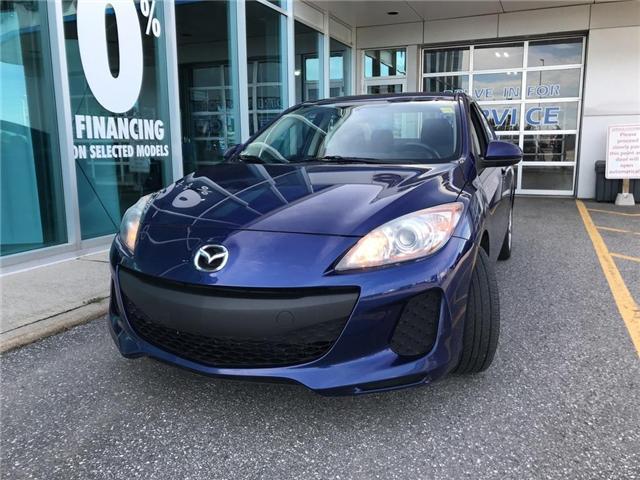 2013 Mazda Mazda3 GX (Stk: M802) in Ottawa - Image 1 of 15