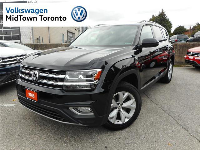 2018 Volkswagen Atlas 3.6 FSI Highline (Stk: P7092) in Toronto - Image 1 of 30