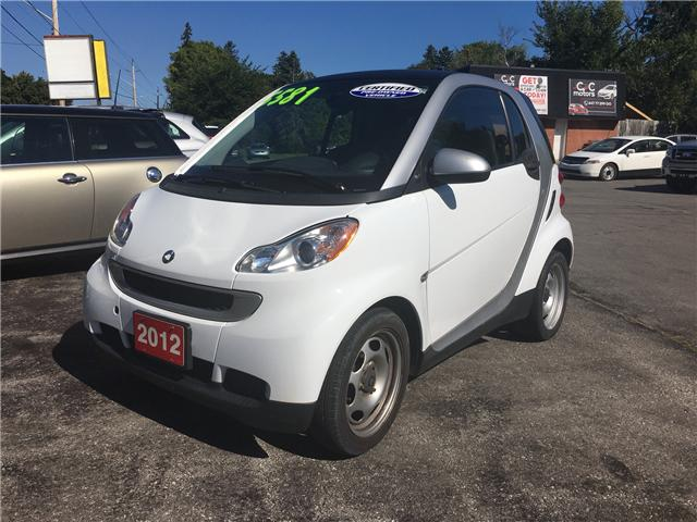 2012 Smart Fortwo Pure (Stk: ) in Cobourg - Image 1 of 10