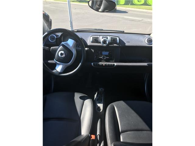 2012 Smart Fortwo Pure (Stk: ) in Cobourg - Image 6 of 10