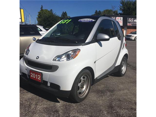 2012 Smart Fortwo Pure (Stk: ) in Cobourg - Image 8 of 10