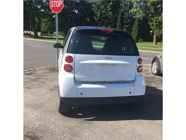 2012 Smart Fortwo Pure (Stk: ) in Cobourg - Image 9 of 10