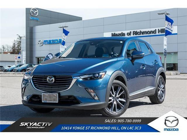 2018 Mazda CX-3 GT (Stk: 18-308A) in Richmond Hill - Image 1 of 22