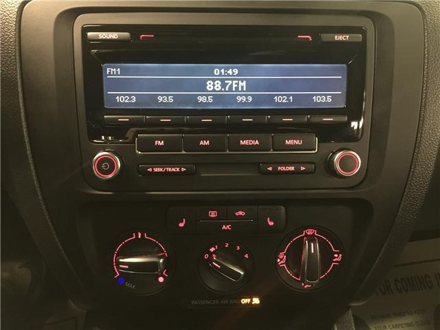 2013 Volkswagen Jetta 2.5L Comfortline (Stk: ) in Toronto - Image 16 of 18
