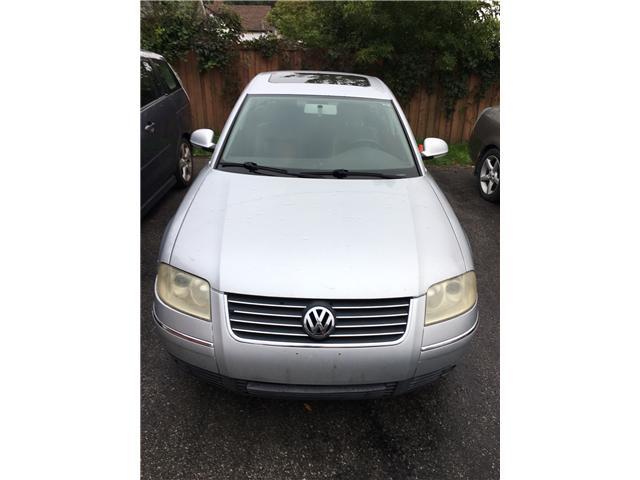 2005 Volkswagen Passat GLS TDI (Stk: -) in Cobourg - Image 1 of 9