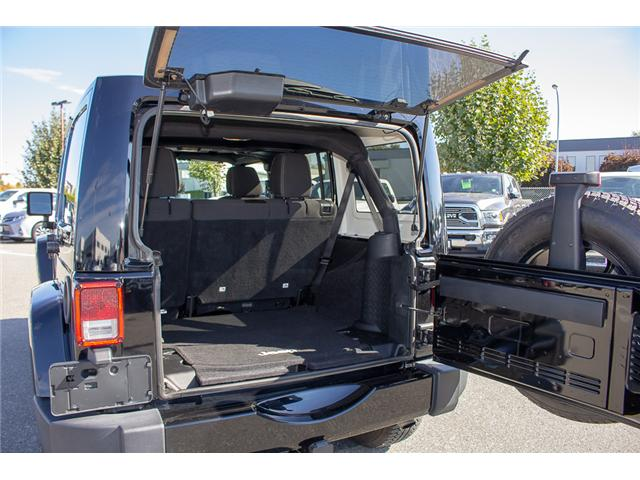 2016 Jeep Wrangler Unlimited Sahara (Stk: EE898320A) in Surrey - Image 6 of 21