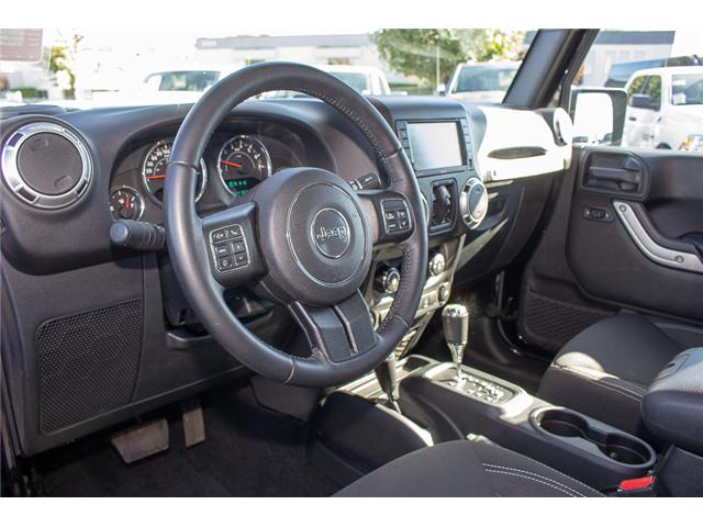 2016 Jeep Wrangler Unlimited Sahara (Stk: EE898320A) in Surrey - Image 7 of 21