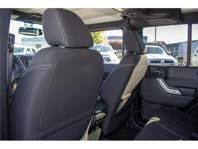2016 Jeep Wrangler Unlimited Sahara (Stk: EE898320A) in Surrey - Image 10 of 21